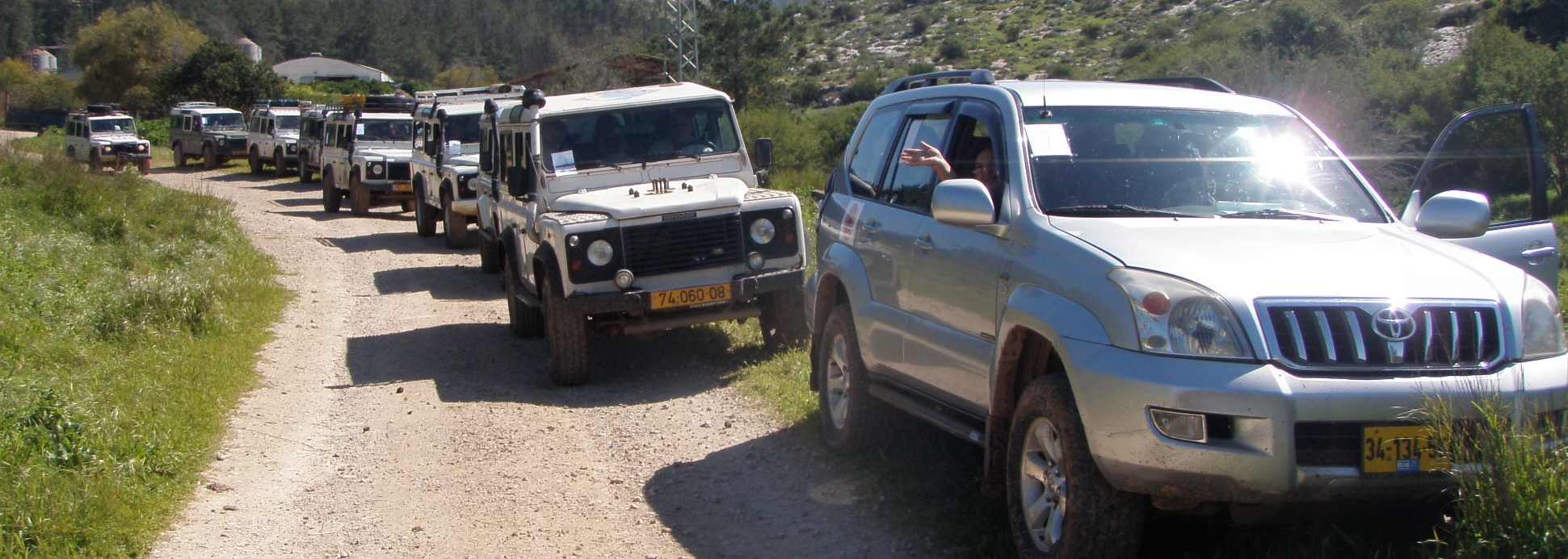 4x4 off road tours in Israel: Outdoor Team Training in Jerusalem hills. ימי גיבוש וכיף
