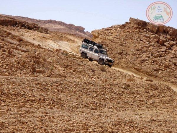 Nahal Gvanim Mitzpe Ramon Negev desert jeep tours.