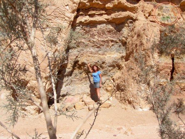Dyke Nahal Ardon Mitzpe Ramon Negev desert jeep tours.