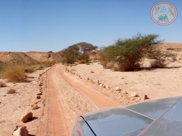 Nahal Ardon Mitzpe Ramon Negev desert jeep tours.