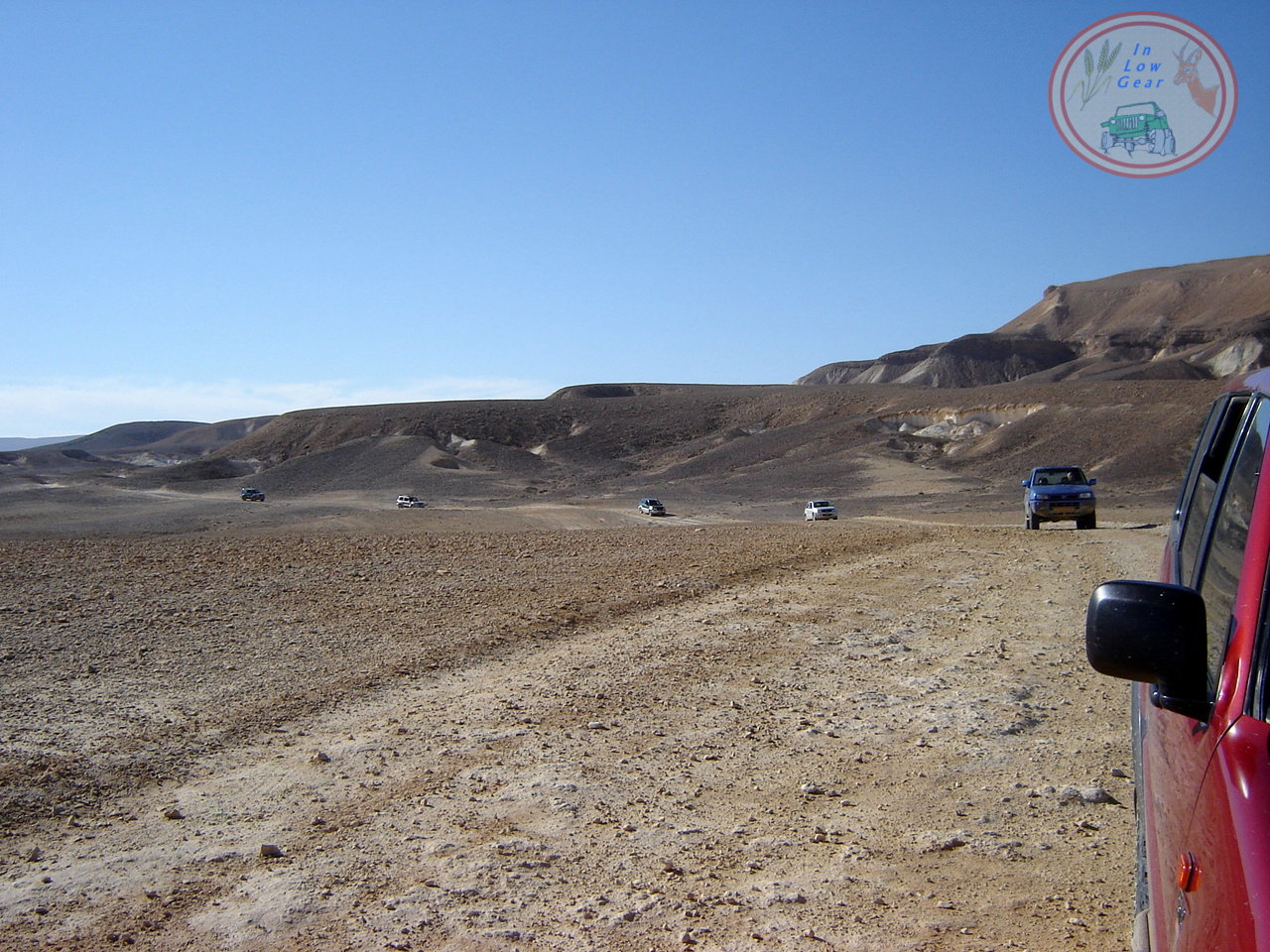 Nahal Nekarot Elyon jeep tours