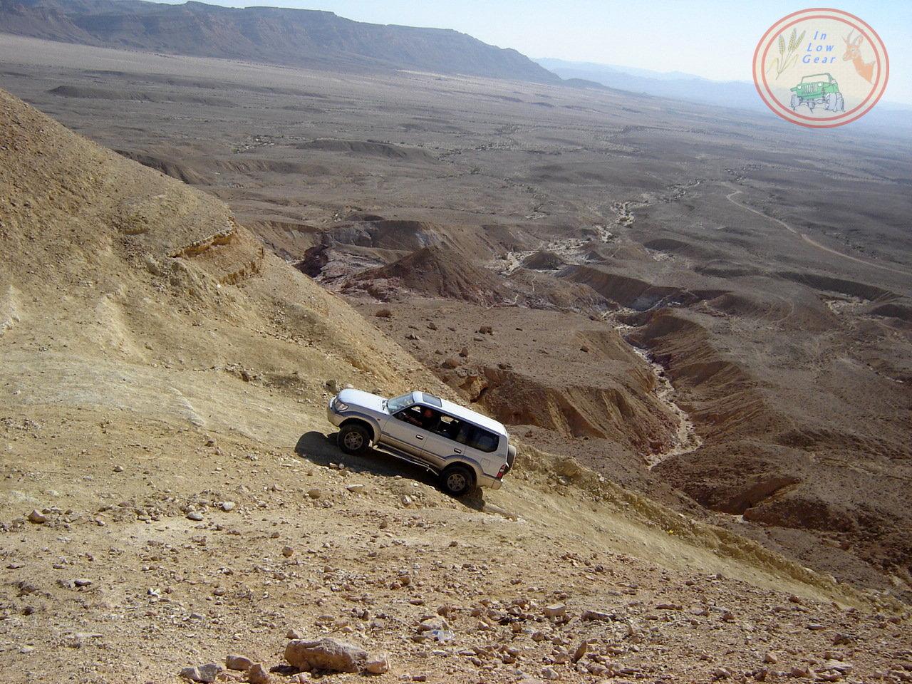 Ma'ale Noah Mitzpe Ramon jeep tours.