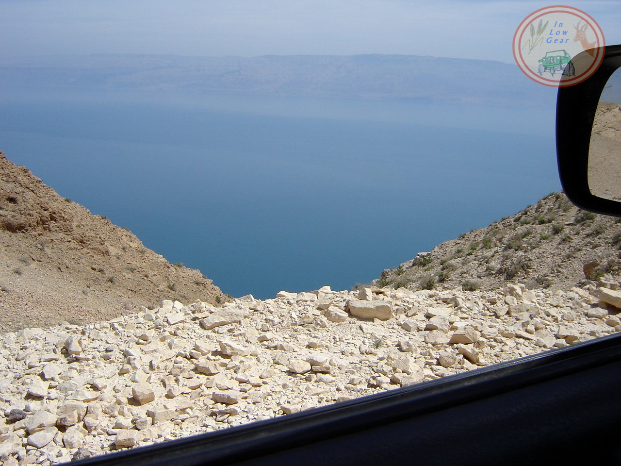 Rosh Chatsatson view of the Dead sea ראש חצצון מדבר יהודה