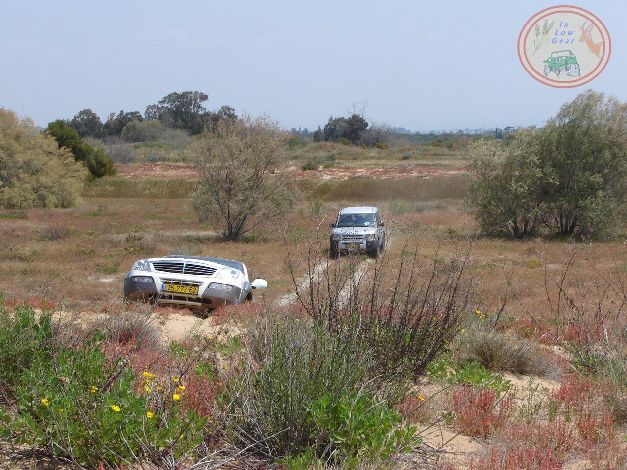 Palmahim Tel Mahoz jeep tours.