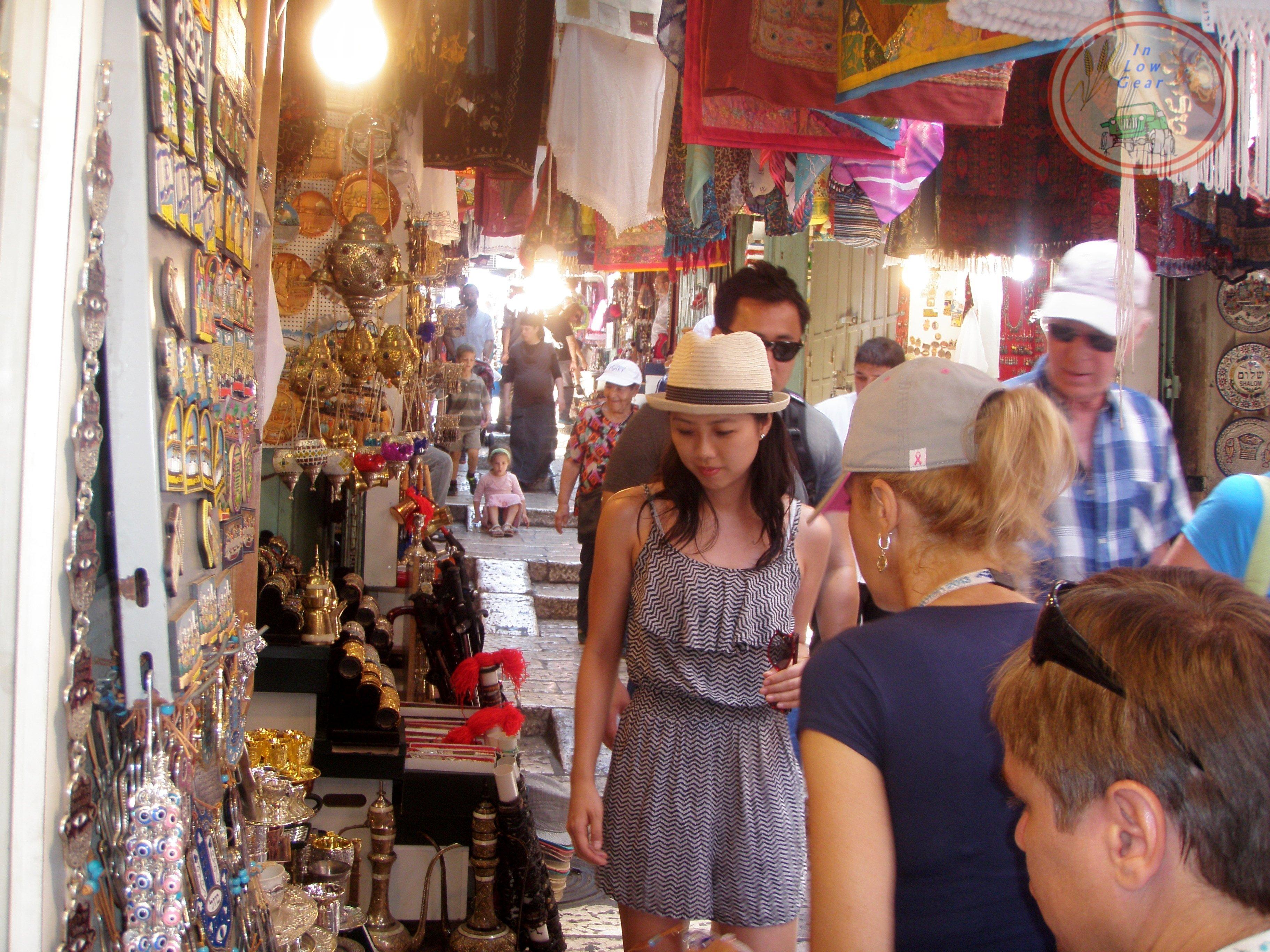 C. Jerusalem David market.