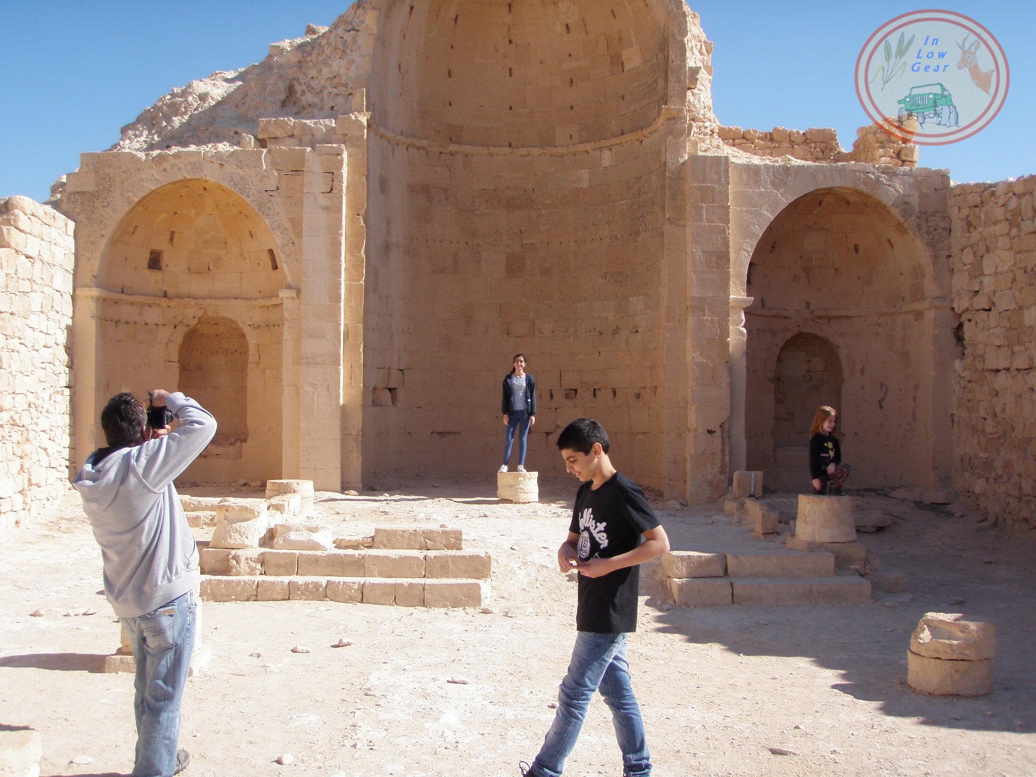 Shivta Nabaty ruins (optional)