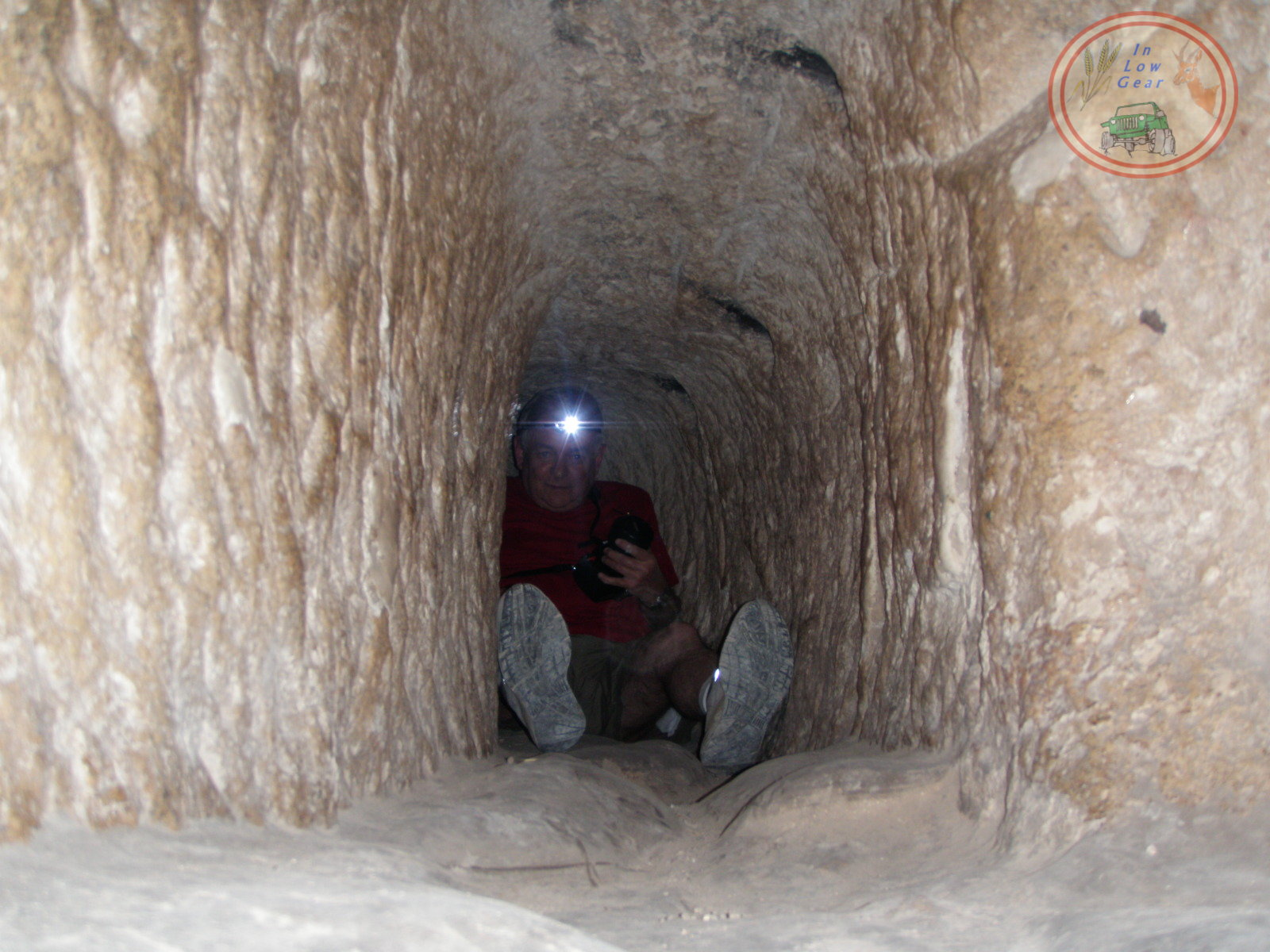 Tel Goded Bar Kochva land of a  thousand caves... תל גודד ארץ אלף המערות