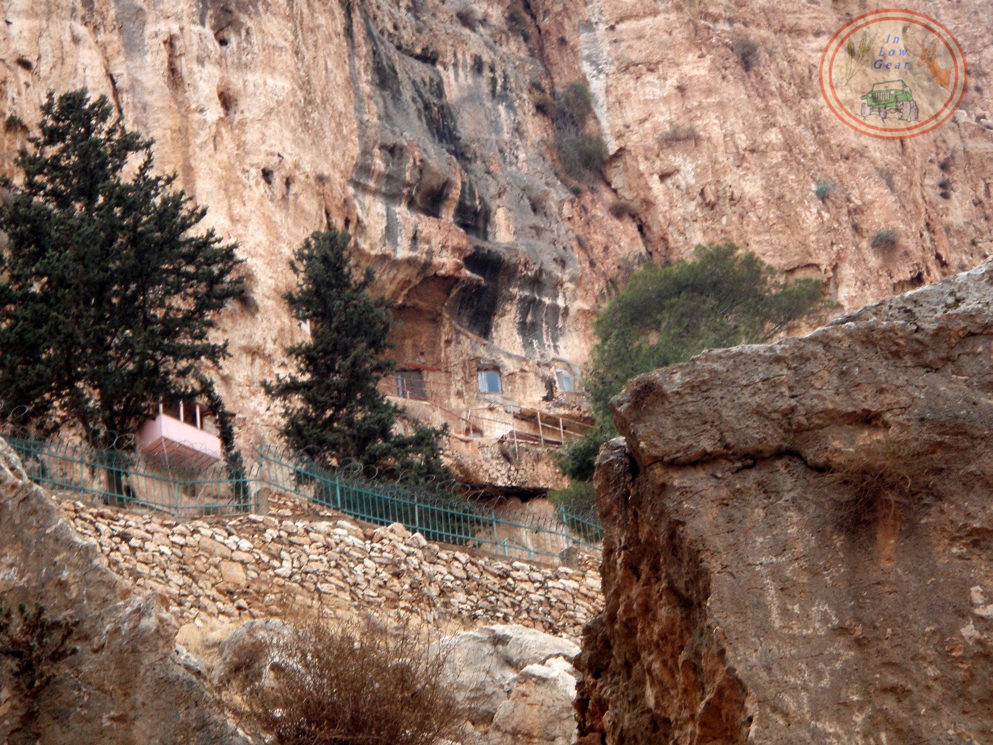 Firan monastery, lavra type, 330 AD at Ein Prat Judea desert.