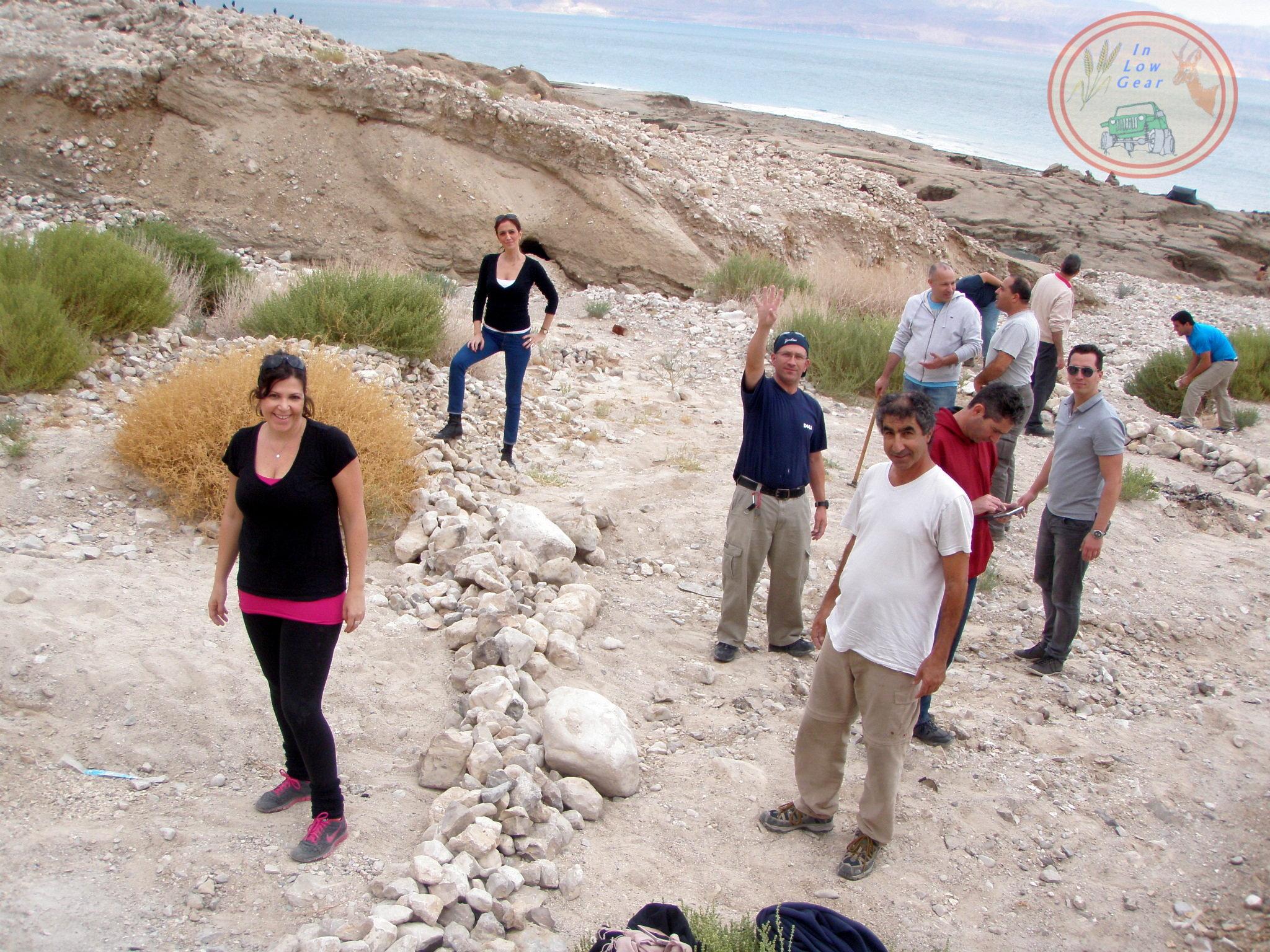 WS Research: Dead Sea soil desalinization. סדנת מחקר פרמקלצ'ר: נטרול מליחות קרקע ים המלח