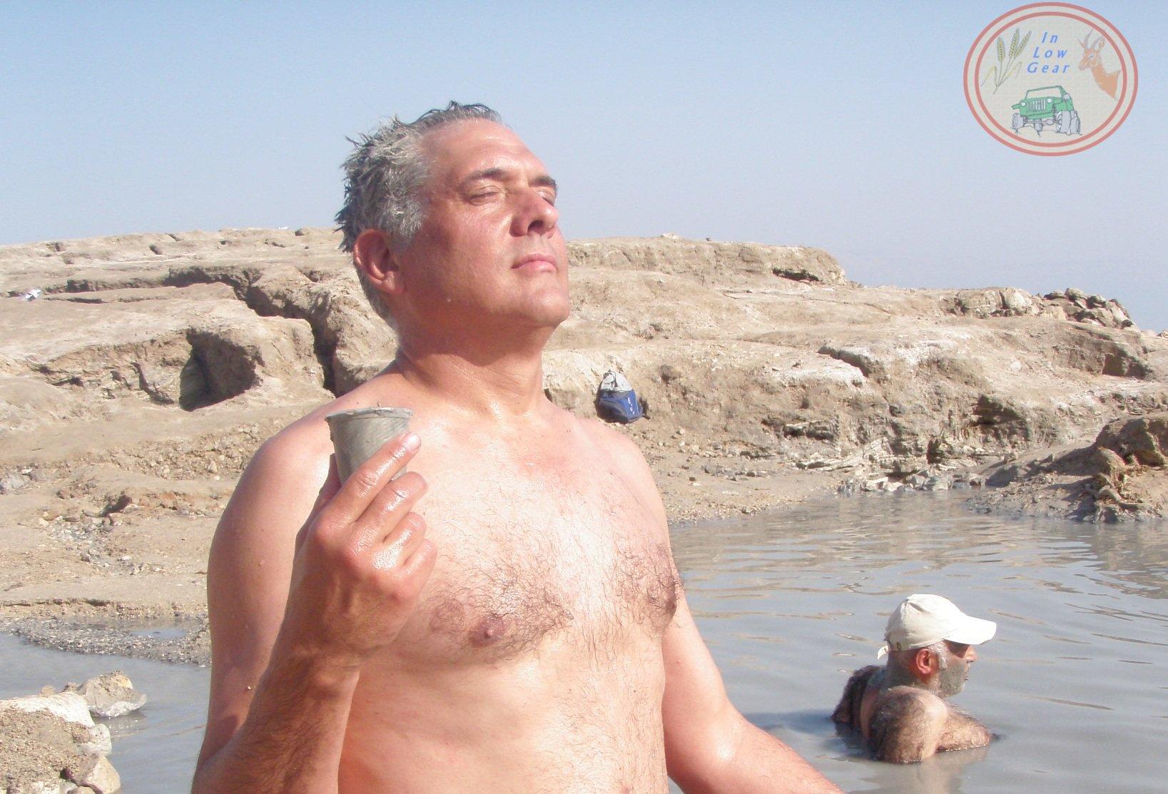 Dead Sea skin regeneration sun bath jeep tours.