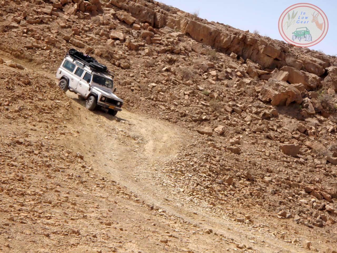 Mitzpe Ramon Negev desert jeep tours.