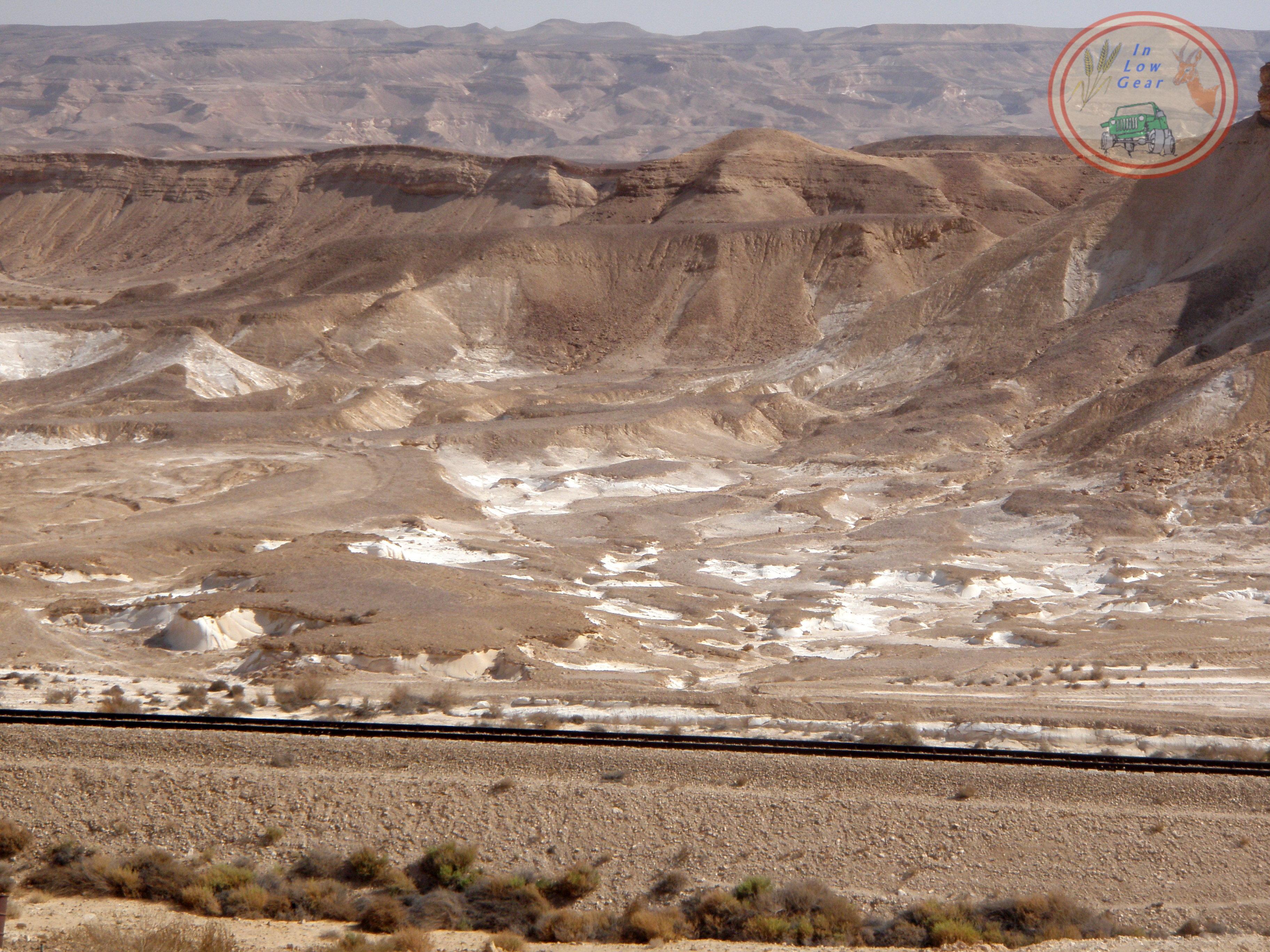 Phosphate land Nahal Zin ארץ הפוספט בנחל צין