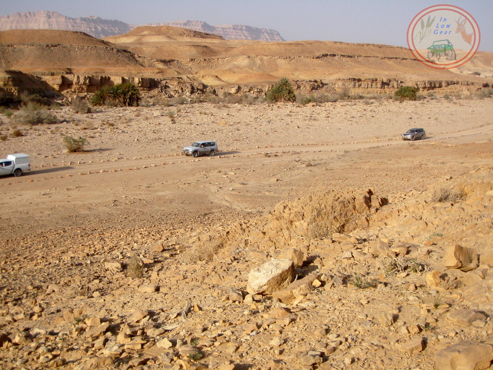 Mitzpe Ramon Ein Saharonim jeep tours.