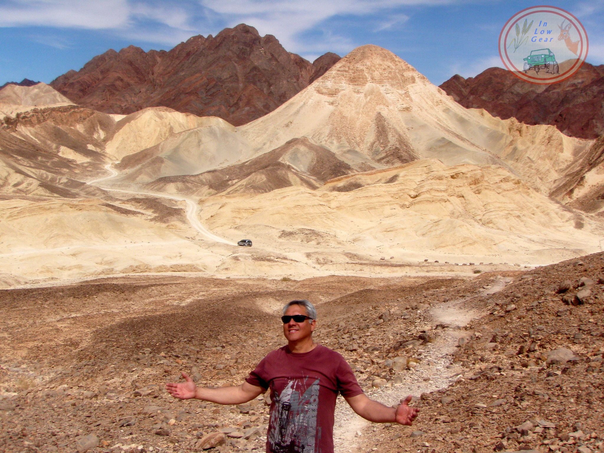 Off road 4x4 jeep tours: Massif Eilat, Har Rehavav