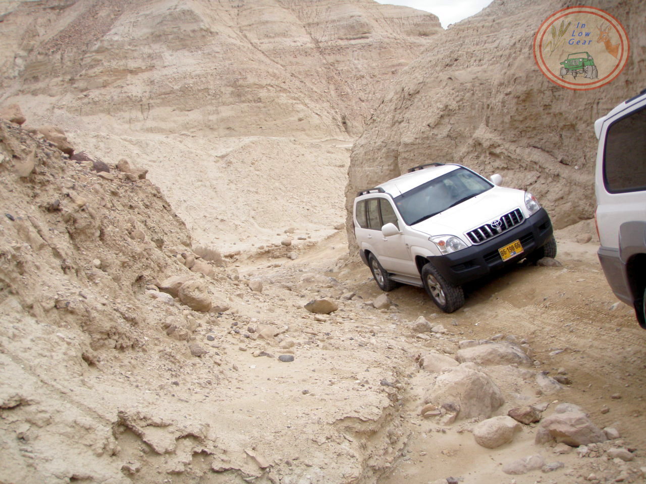 Nahal Pratzim short walk at Judea desert jeep tours.