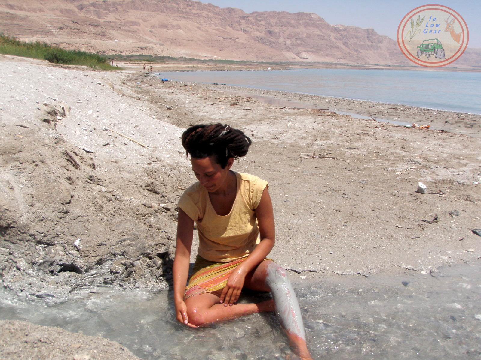 Metzoke Dragot Dead Sea fresh water springs jeep tours.
