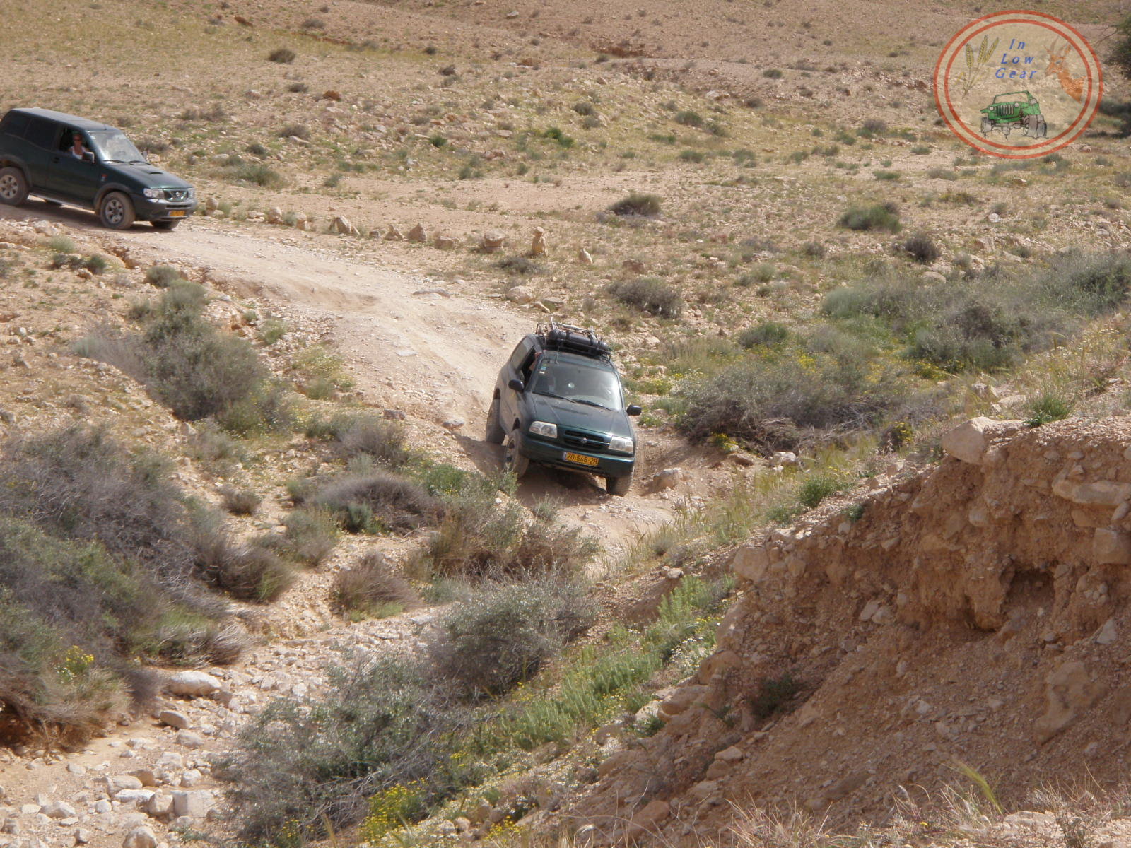 Nahal Lots 4x4 jeep tours