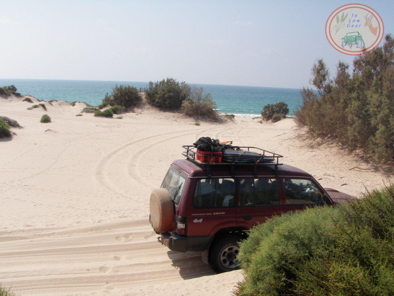 Nitzanim dunes.חולות ניצנים