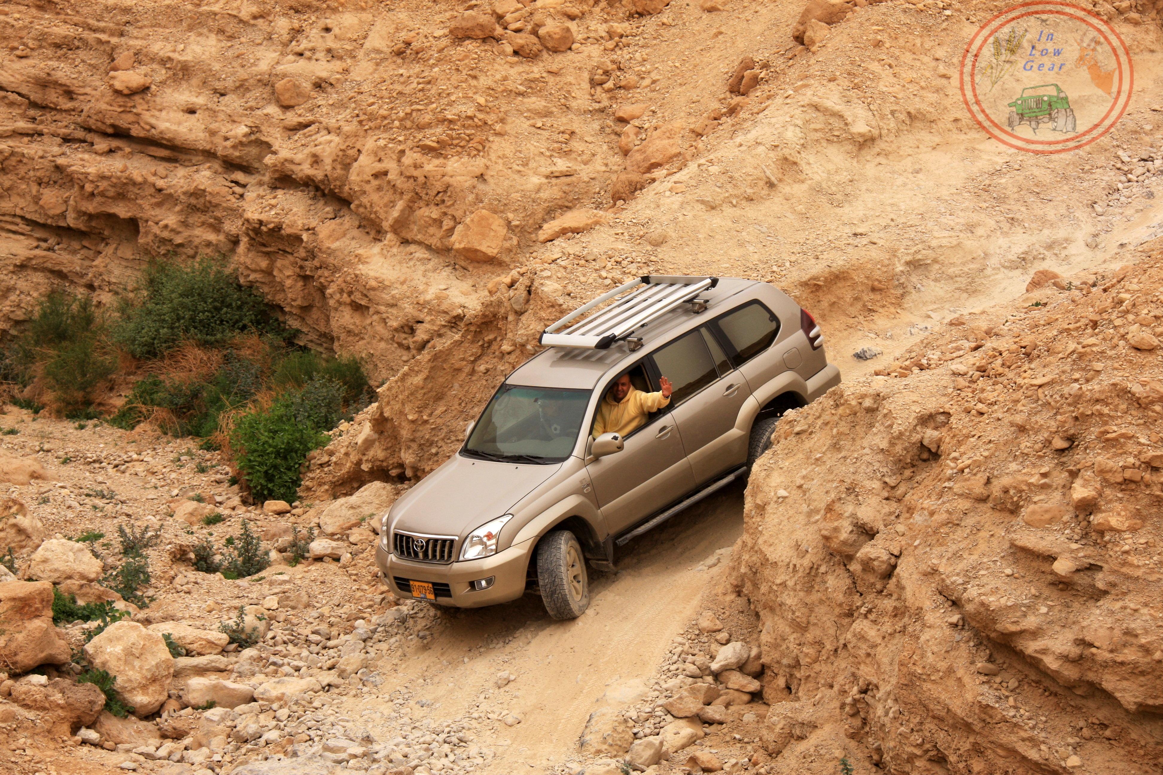 Nahal Pratzim upper, Judea desert jeep tours.