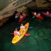 Sea ODT: Sea & Cave Kayaking in Israel for groups.