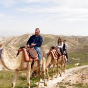 Land ODT: Group Camel Riding tours in Israel.