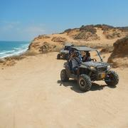 Land ODT: Group RZR 4X4 ATV Driving tours in Israel.